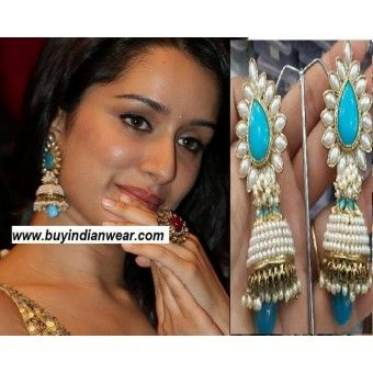 @ $49 Shraddha Kapoor Aashiqui 2 Earrings with FREE shipping offer.