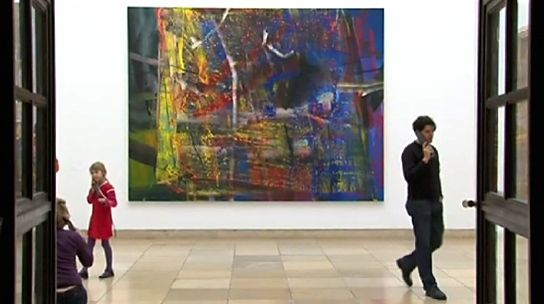 On the occasion of the exhibition 'Gerhard Richter. Abstract Paintings' in 2009 the chief curator of Haus der Kunst in Munich, Ulrich Wilmes, talked about some of Richter's abstractions in detail.