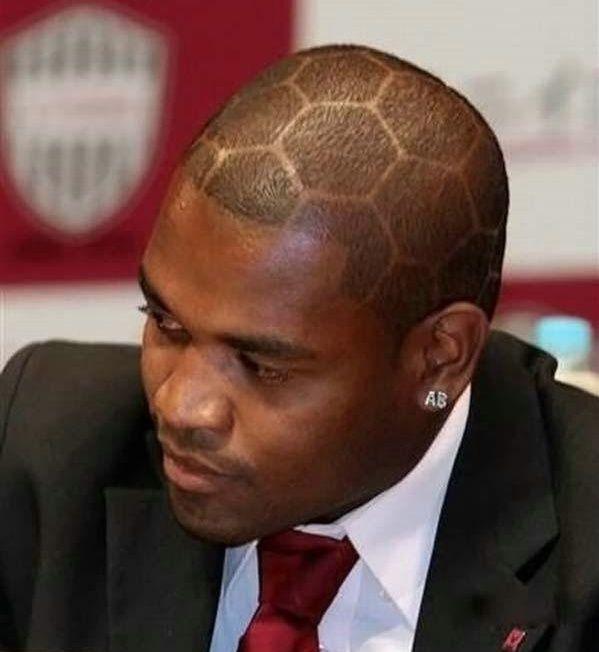 Peinado futbolero