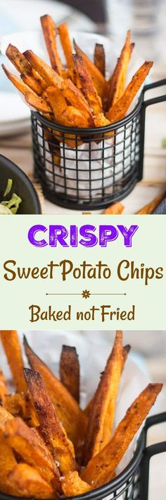 All vegetables taste better as chips. Easy to make, these baked chips are a great side dish for pretty much everything.