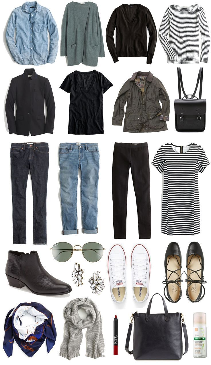 Your ultimate packing list for traveling light to Europe in the Spring? Create a travel capsule wardrobe. Intrigued? Click through to read!