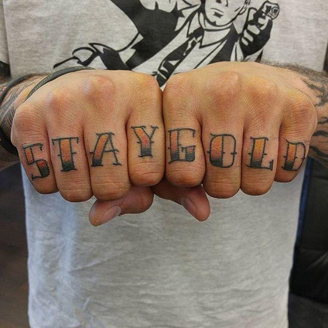 Best 25+ Stay Gold Tattoo Ideas On Pinterest