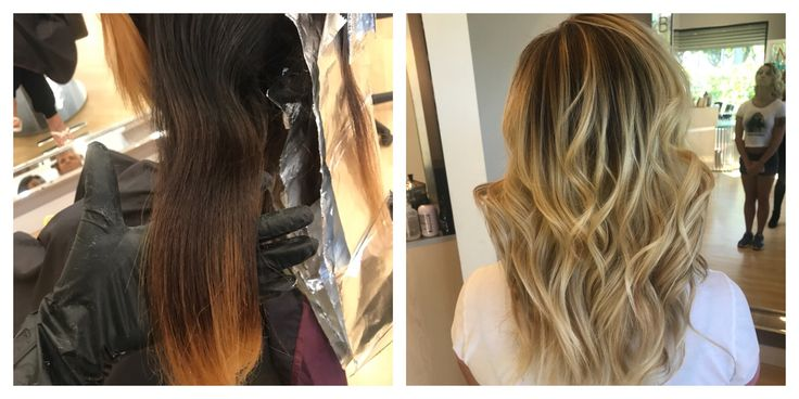 4 Visits / Color Retouch / Full Balayage / Cut / Style #TAGS#