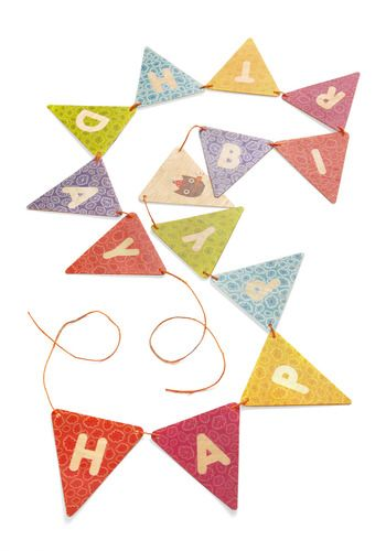 """You can use a die-cut machine to create your own personalized """"Happy Birthday"""" message."""