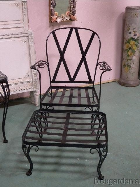 52 Best Vintage Woodard Wrought Iron Images On Pinterest