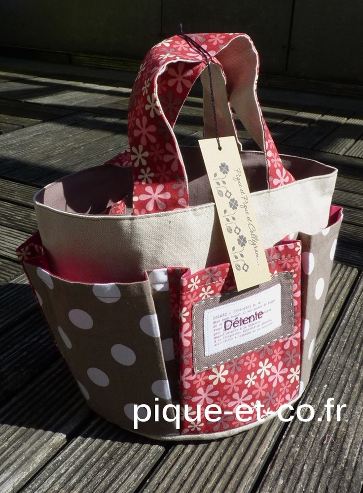 sac multipoches© ( ou tote de scrap )                                                                                                                                                     Plus