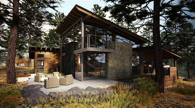 If Its Hip Its Here Marvelous Modern Mountain Home In Truckee