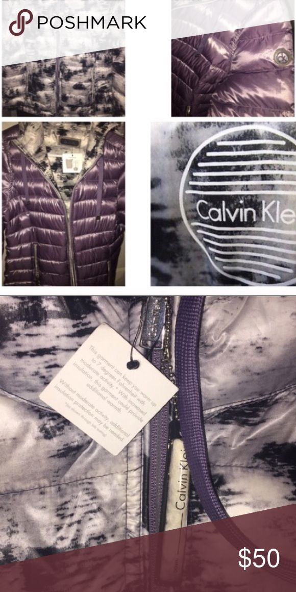 Calvin Klein Men's Puffer Jacket Very comfortable , perfect for the winter ! No rips no odors , only worn a few times just to look handsome . Accepting offers Calvin Klein Collection Jackets & Coats Puffers