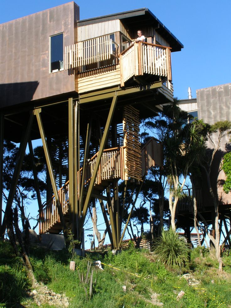 Tree Houses - Accommodation in Kaikoura, South Island, New Zealand