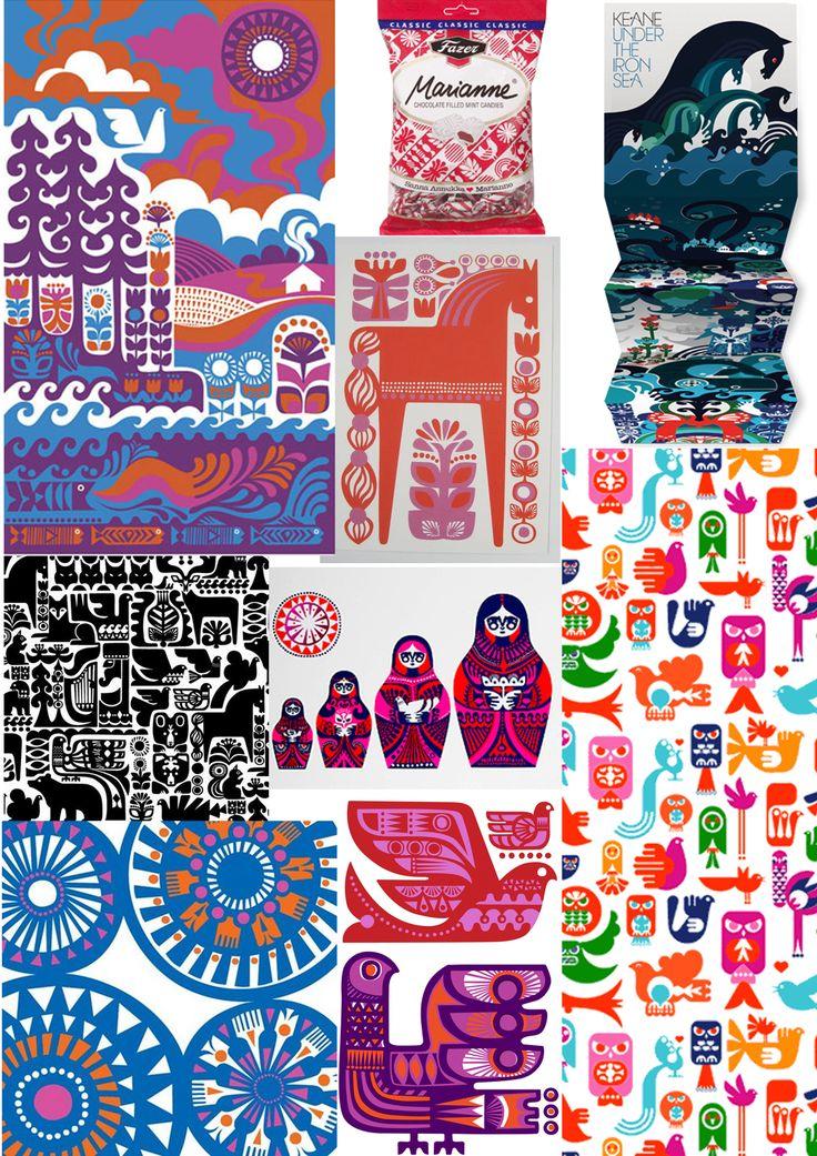 Finnish design - by Sanna Annukka - also for Marimekko & Fazer..