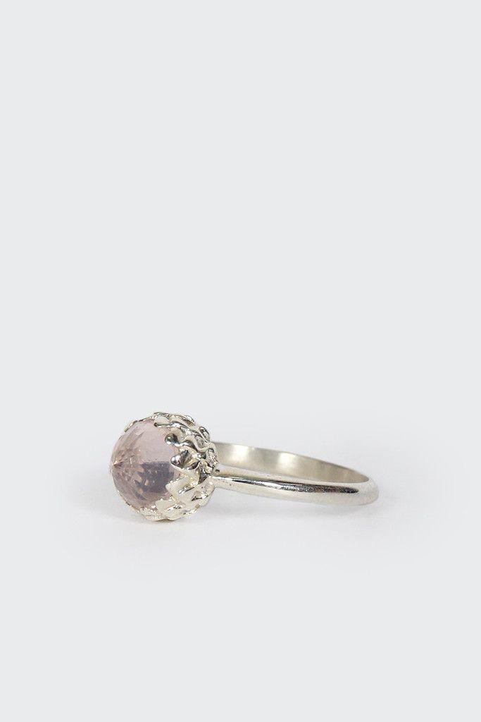 GOOD AS GOLD | Online Clothing Store | Mens & Womens Fashion | Streetwear | NZ — Meadowlark Mini Protea Ring, rose quartz