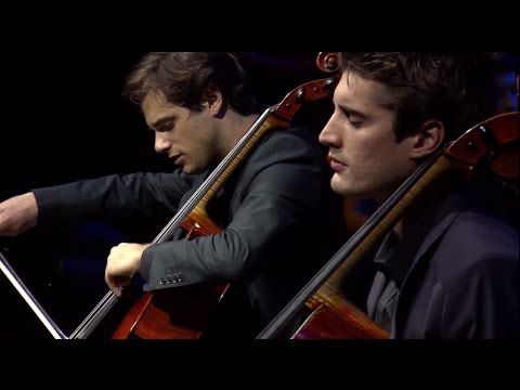 ▶ 2CELLOS - Benedictus [LIVE at Arena Zagreb] - YouTube