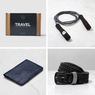 Essentials for Men who Travel Kit