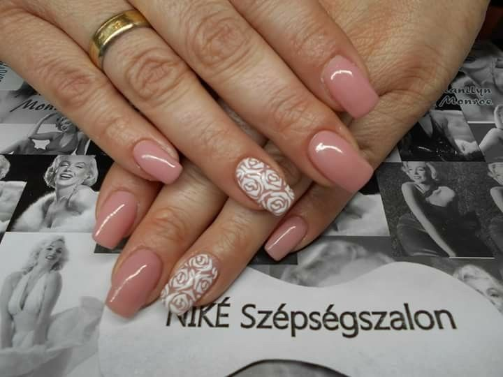 #köröm #gel #nails #rózsa #manikűr