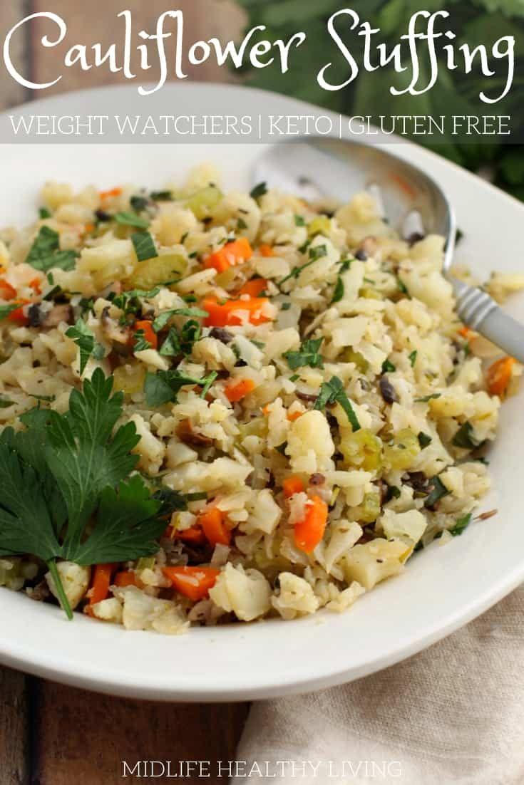 Cauliflower Stuffing Recipe