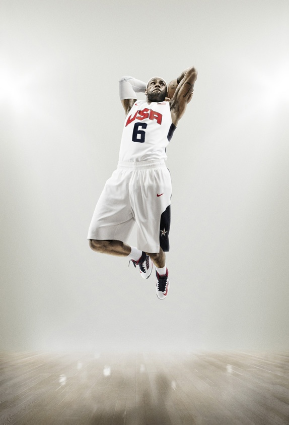 USA Basketball new uniforms, great photo campaign too