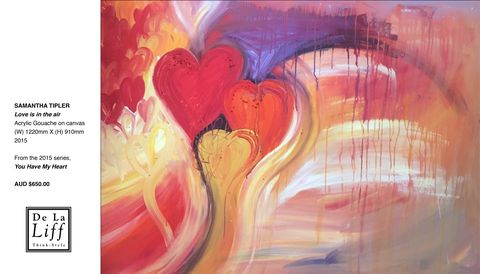 Love is in the air by Samantha Tipler