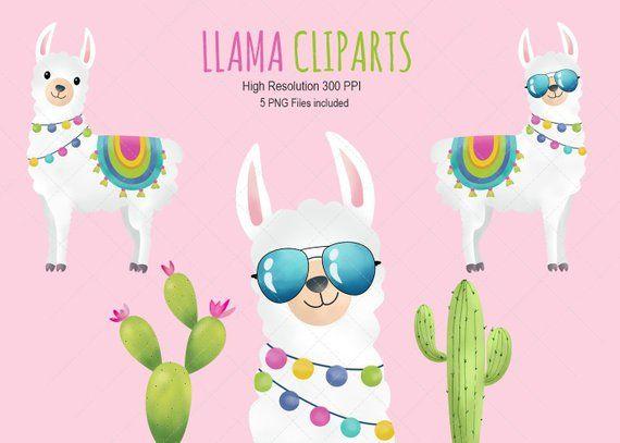 Llama Clipart Llamas Clip Art Llama Instant Download Digital Clip Art Digital File Digital Cli Llama Clipart Llama Arts Clip Art