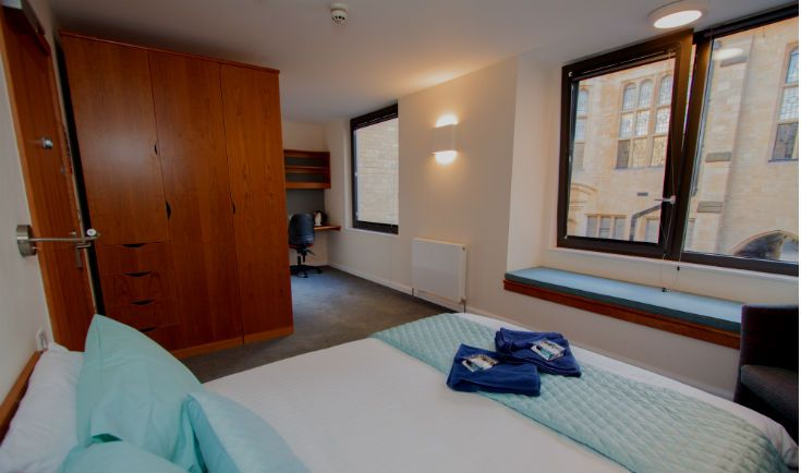 New B&B rooms now available in our refurbished Goodhart Building – book at www.univ.ox.ac.uk