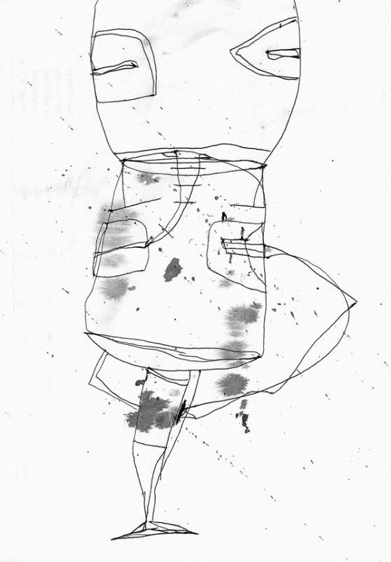 Csaba Pál, drawing 05, A/5