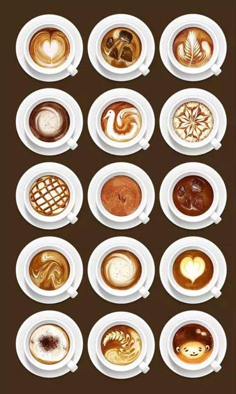 cafés....