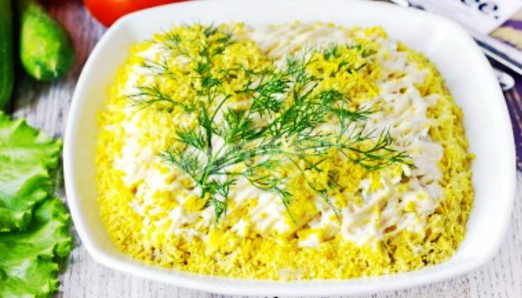 Салат «Мимоза» | Самые вкусные кулинарные рецепты