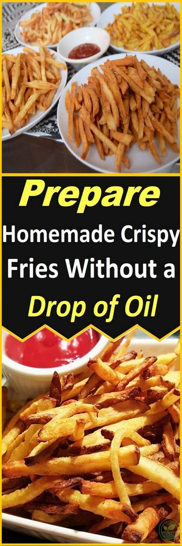 There are many foods that are prepared similarly or the same throughout the whole world, but there are also foods which are very different.One of the most popular dishes for everyone are definitely the crispy fries. We all like to consume them!