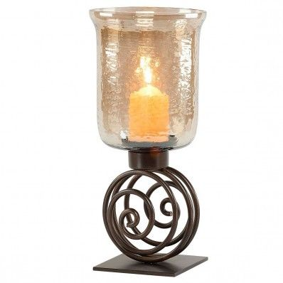 This Mindy Brownes Swirl Hurricane Candleholder makes the perfect centrepiece  <3