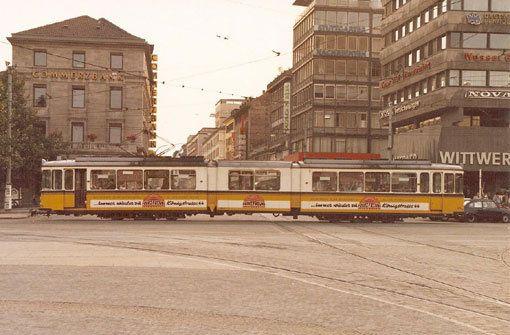 Die Commerzbank und die Buchhandlung Wittwer haben sich bis heute kaum verändert. Foto: Leserfotograf kalanag