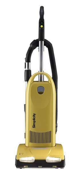 The Synchrony Deluxe Upright takes the chore out of vacuuming with patented Tandem Air System that cleans from floor to ceiling and everything in between! With a lifetime belt, HEPA media filtration, and the new self-sealing bag system, the Synchrony Deluxe combines amazing cleaning performance with durability and convenience. Model S30D. #simplicity #upright #vacuum
