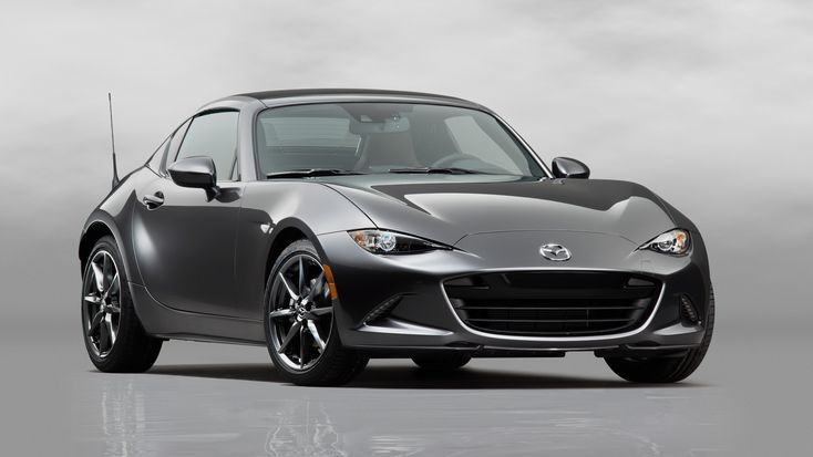 The all-new Mazda MX-5 RF Miata hardtop convertible roadster debuts at the 2016 New York Auto Show. Click here to check out the brand new RHT roadster.