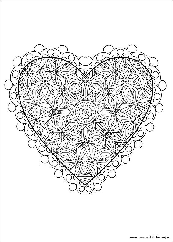 Coloring Pages For Vallintins Day