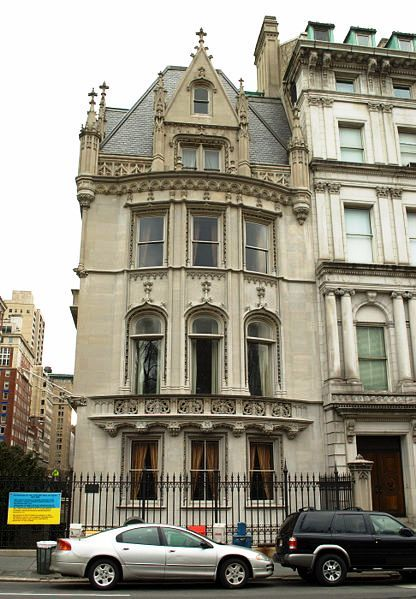 In the 1890s great brownstone mansions, each a full block wide, lined fashionable Fifth Avenue. Standing out from the row of chocolate-co...