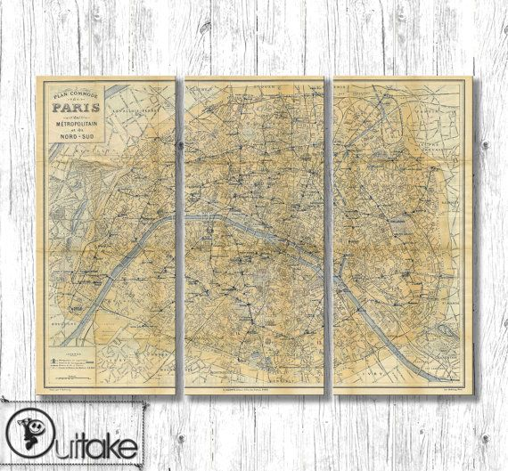 The 25 Best Map Canvas Ideas On Pinterest World Pin Extra: Paris Map Canvas At Infoasik.co