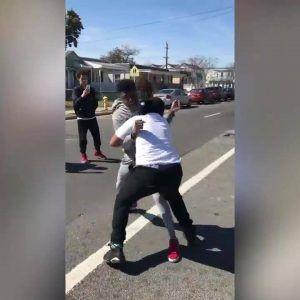 Brave man stops a street fight with a lesson on respect  Credit: ViralHog #news #alternativenews
