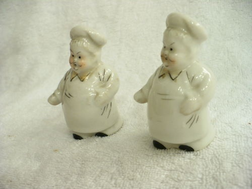 Details About Bx Vintage Sunshine Chef Salt Amp Pepper