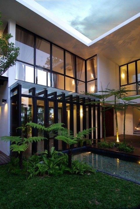 Fachada de Casa Moderna 208 best Modern