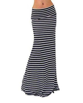 Oferta: 10.99€. Comprar Ofertas de Mujeres Maxi Falda De Playa Larga Rayas Faldas Largas Elegantes Cintura Alta Como la imagen M barato. ¡Mira las ofertas!