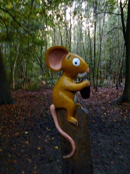 mouse on gruffalo trail