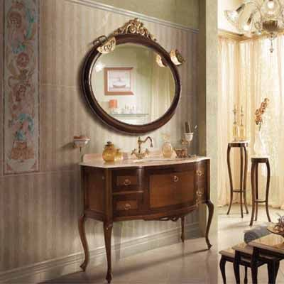 38 best antique bathroom vanities images on pinterest for Modern antique decor