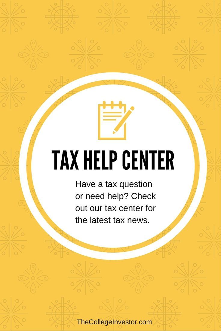 The Tax Help Center from The College Investor is a central location for tax help for filing returns, getting tax software reviews, and seeing IRS issues. via /collegeinvestor/
