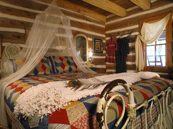 99 best images about rustic bedrooms on pinterest land 39 s for Rustic romantic bedroom