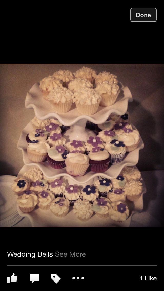 Cupcakes #wedding #shower #diy