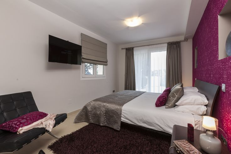 Bedroom, soft furnishings, curtains, feature walls, by Pulse Interior Design