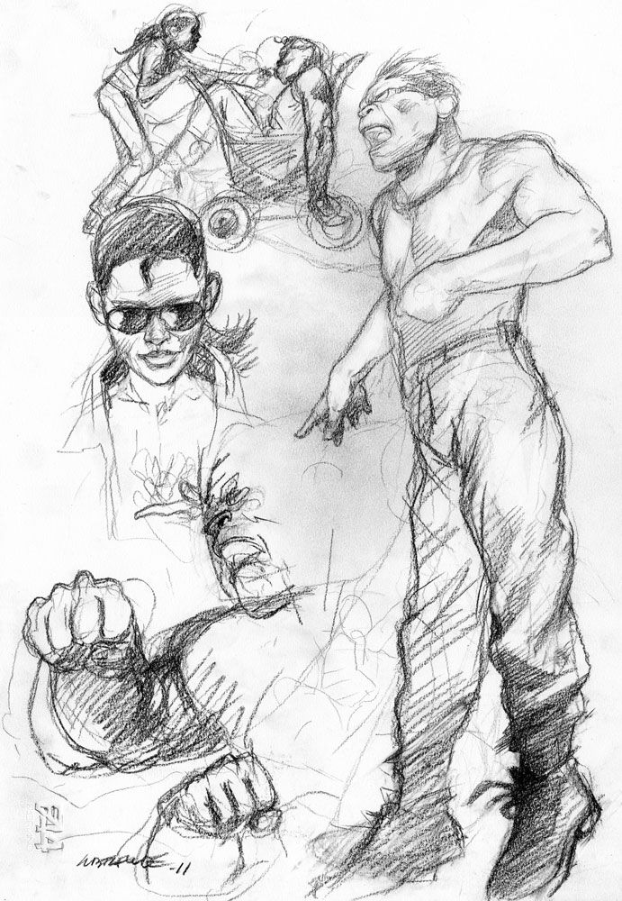 Liberatore - dessins - Galerie Barbier & Mathon - page 4