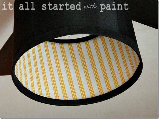 Who's ready for some craft ideas using some fab Washi Tape? Here are some features from the Washi Tape party. enjoy! Washi Tape Crafts  Washi Tape Valence by 36th Avenue Washi Tape lamp shade by It All Started with Paint  Washi Ta