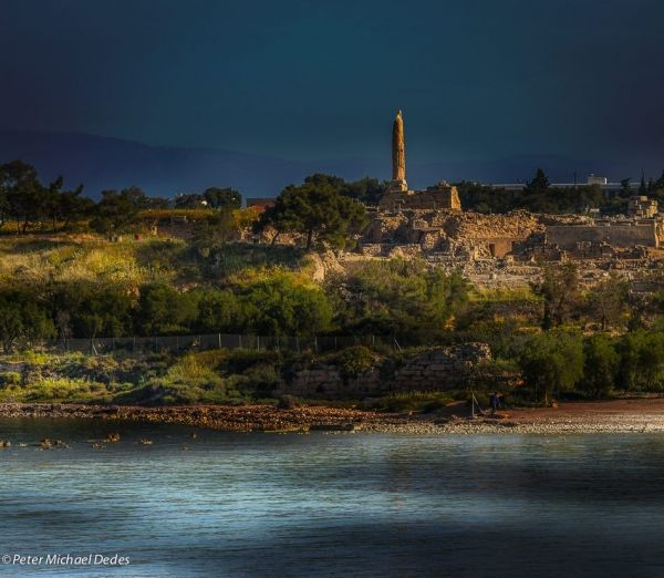 Site of Kolona in Aegina Town