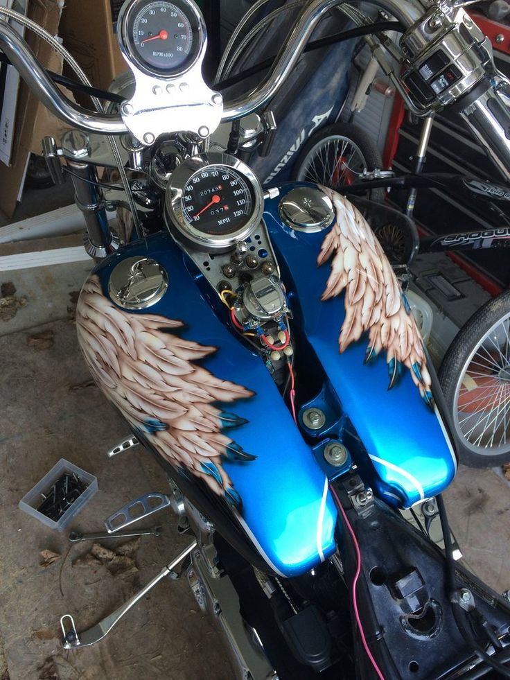 Pin by Brooklyn Yanke Art on Airbrushed Motorcryles by ...