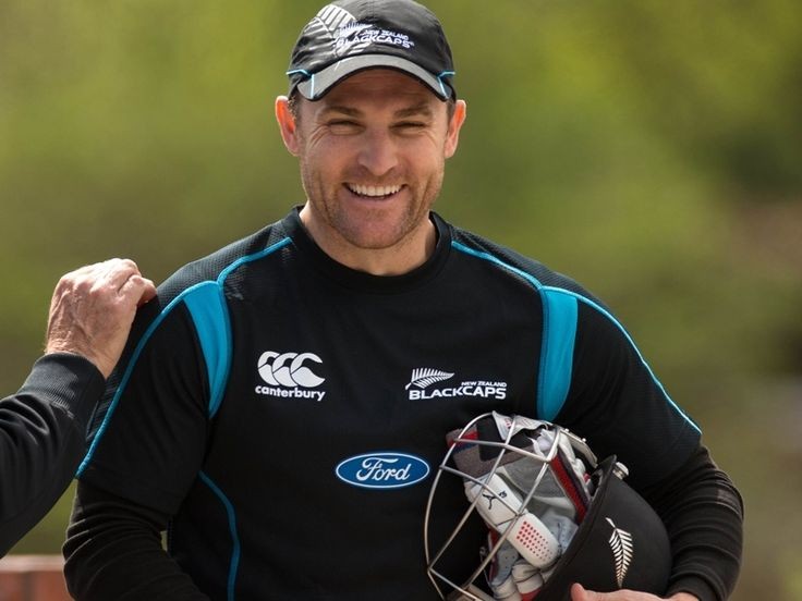 Brendan McCullum of the New Zealand Blackcaps cricket team