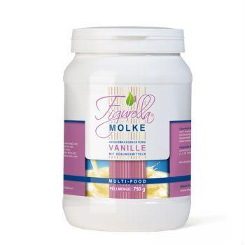 Figurella Molke  Figurella® Molke ist ein qualitativ sehr hochwertiges Süßmolke-Pulver, das zusätzlich mit dem Ballaststoff Inulin angereichert ist.